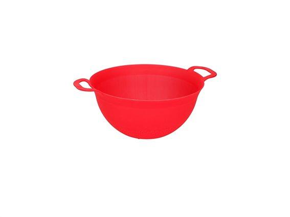 Alpina Σουρωτήρι πλαστικό 34x26x13cm Κόκκινο