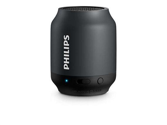 Philips Ηχεία Bluetooth BT50B Μαύρο