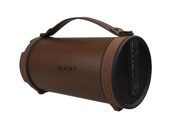 SOGO Ηχεία Bluetooth ALT-SS-8480 Καφέ