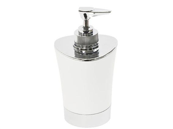 Διανεμητής σαπουνιο Dispenser, Δοχείο για κρεμοσάπουνο με αντλία σε Λευκό χρώμα