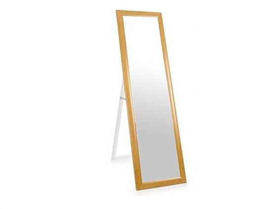 Ολόσωμος Καθρέπτης Δαπέδου 3 x 38,5 x135 cm, με ξύλινο Πλαίσιο, Gift Decor