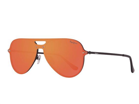 Pepe Jeans Unisex Γυαλιά Ηλίου Μάσκα με Φακό Καθρέπτη και προστασία UV 400
