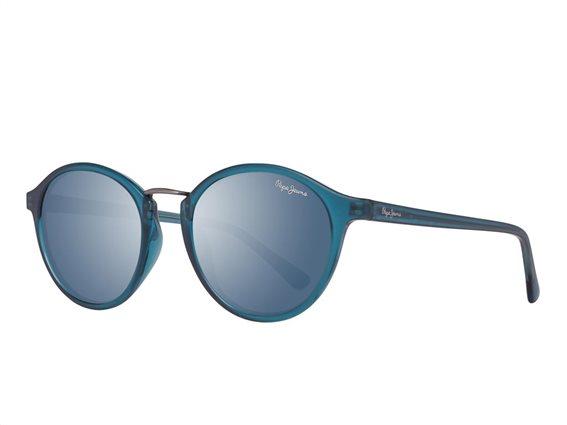 Pepe Jeans Γυναικεία Γυαλιά Ηλίου με Ορθογώνιο Φακό και , σε χρώμα Γαλάζιο, PJ7291 C3 50 Jannie