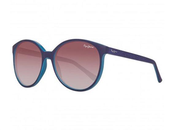 Pepe Jeans Γυναικεία Γυαλιά Ηλίου με Ορθογώνιο Φακό και , σε χρώμα Mοβ-Γαλάζιο, PJ7297 C3 56 Minda