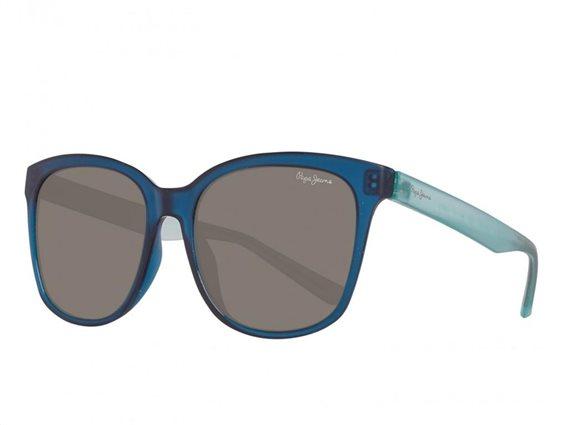 Pepe Jeans Γυναικεία Γυαλιά Ηλίου με Ορθογώνιο Φακό και , σε χρώμα Μπλε-Γαλάζιο, PJ7290 C4 54 Edna