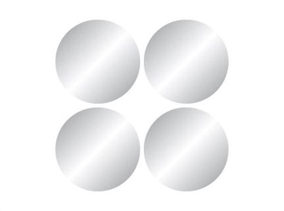 Σετ Στρογγυλοί Καθρέπτες 4 τεμαχίων Μπάνιου με διάμετρο 20 cm