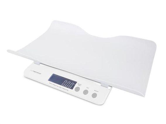 Βρεφική ψηφιακή ζυγαριά για μωρά, με οθόνη LCD, 52x33x7.5cm, El Nino, Εsperanza, EBS017