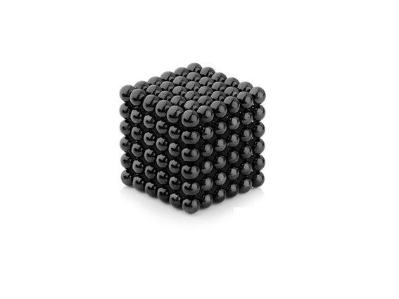 Μαγνητικές Μπάλες Μικρά Σφαιρίδια 3mm σε Μαύρο χρώμα, Anti-stress Magnetic Balls