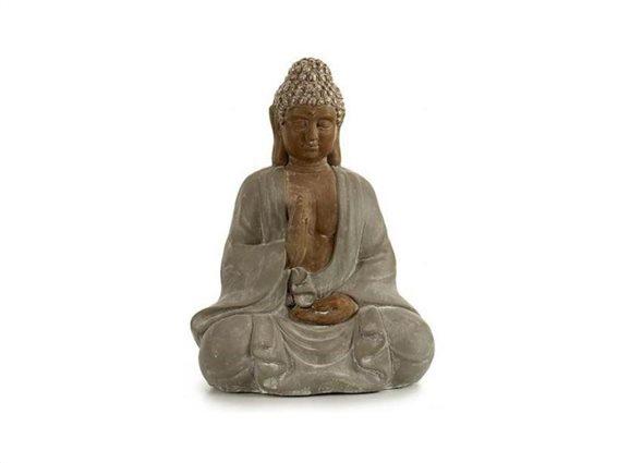 Βούδας διακοσμητικό αγαλματίδιο σε καθιστή θέση, 26x36x47cm