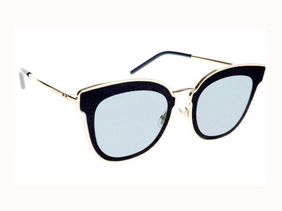 Jimmy Choo Γυναικεία γυαλιά Ηλίου σε σχήμα Cat Eye και Μπλε φακούς, NILE/S LKS 63