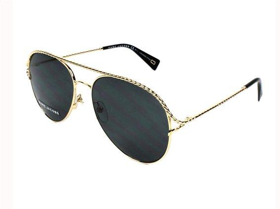 Marc Jacobs Unisex Γυαλιά Ηλίου με μεταλλικό σκελετό, Aviator στυλ, MARC 168/S RHL 58