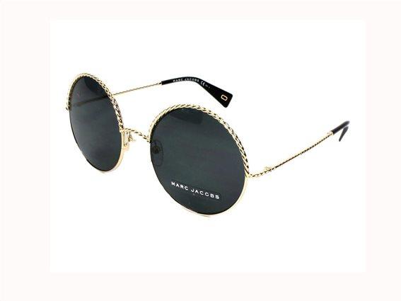 Marc Jacobs Γυναικεία Γυαλιά Ηλίου με μεταλλικό σκελετό, Στρογγυλό Φακό, Marc Jacobs 169/S RHL 57