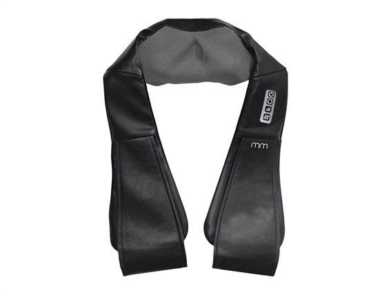 Συσκευή Μαξιλάρι Μασάζ Σιάτσου (Shiatsu) για Αντιμετώπιση Πόνου σε μαύρο χρώμα
