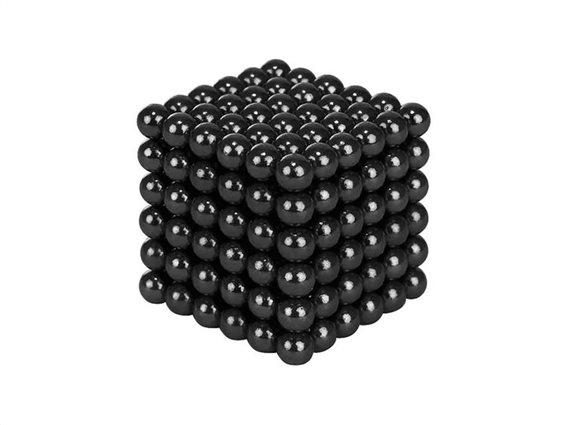Μαγνητικές Μπάλες Μικρά Σφαιρίδια 5mm 216 τεμαχίων σε μαύρο χρώμα