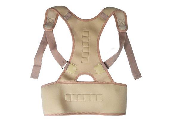 Jocca Μαγνητική Ζώνη Στήριξης Πλάτης Unisex, Posture support