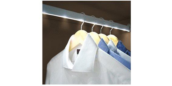 Jocca Μπάρα φωτισμού ντουλάπας με 6 led φωτάκια, Led Light Wardrobe Bar