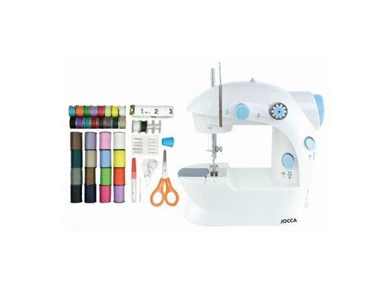 Jocca Σετ Ραπτομηχανή και αξεσουάρ Ραπτικής 48 τεμαχίων, Sewing Machine kit