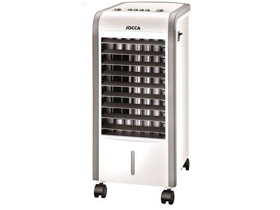 Jocca Air Cooler Φορητό Κλιματιστικό και Υγραντήρας 80W/2000W με 3 ταχύτητες και δεξαμενή νερού 3L