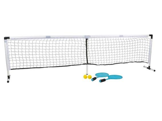 Σετ Εξοπλισμός Τένις 22 τεμαχίων με δίχτυ, ρακέτες και μπάλες, 240x15x60 cm, Scatch 14389