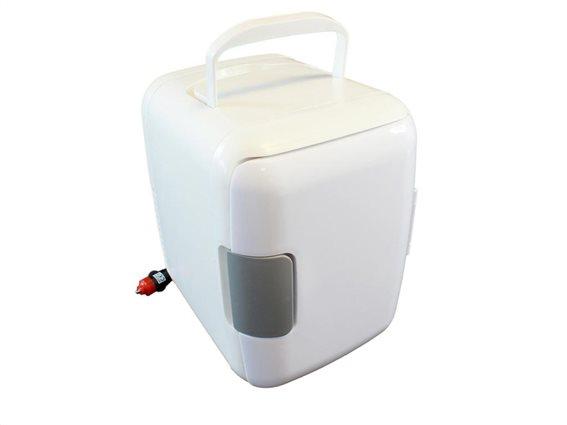 Aria Trade Mini Φορητό Ψυγείο Ταξιδίου 4L με λειτουργία Ψύξης και θέρμανσης, 24,3x17,8x26 cm