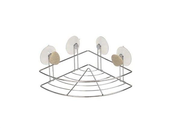 Μεταλλικό Ράφι Μπάνιου για οργάνωση και αποθήκευση, 26x19x9 cm