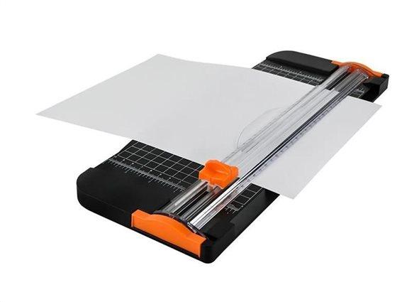 Μηχάνημα Κοπής Χαρτιού Κοπτικό A3 με δυνατότητα κοπής έως 12 φύλλων, 38x14.7 cm
