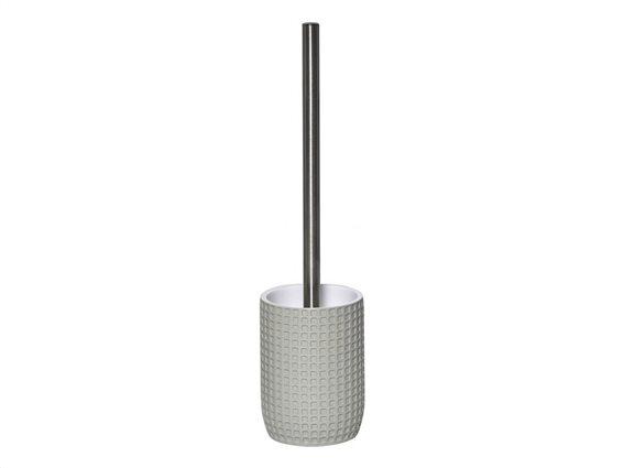 Πιγκάλ Μπάνιου με στρογγυλή βάση και ανάγλυφο σχέδιο, Toilet brush