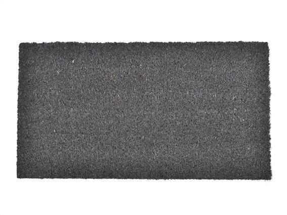 Πατάκι Χαλάκι εισόδου σε γκρι χρώμα 33X60cm, Coco