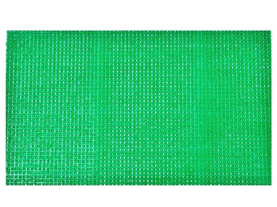 Πατάκι Χαλάκι εισόδου με σχέδιο τεχνητό γρασίδι σε πράσινο χρώμα 40x60 cm, Pixie