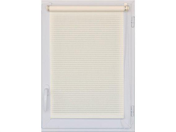 Στόρι Σκίασης Ρόλερ Ημέρας Ρολοκουρτίνα με ρίγες σε λευκό χρώμα, 45x180 cm