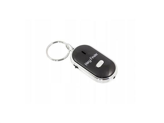 Aria Trade Μπρελόκ Ανεύρεσης κλειδιών με ηχητική ειδοποίηση και φωτισμό Led, key finder