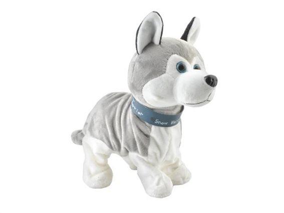Παιδικό Διαδραστικό Παιχνίδι Σκύλος Husky, 26x7x24 cm, PI4477