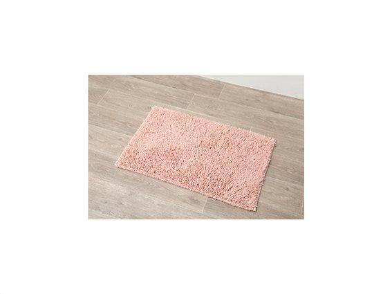 Αντιολισθητικό Πατάκι Μπάνιου με Μικροϊνες σε ροζ χρώμα, 50x80 cm, Clear pink