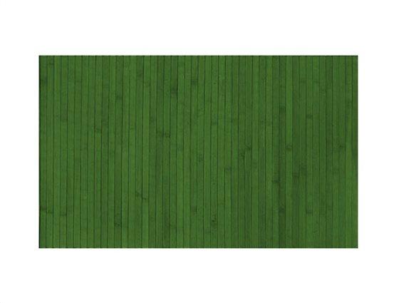 Αντιολισθητικό Πατάκι Μπάνιου από Bamboo σε πράσινο χρώμα, 50x80 cm
