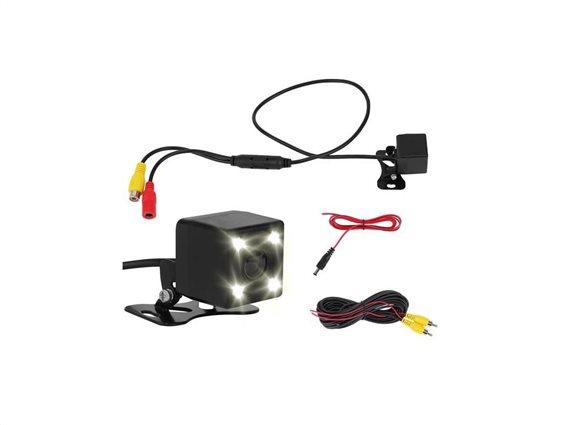 Αδιάβροχη Κάμερα οπισθοπορείας με νυχτερινή λήψη σε μαύρο χρώμα, 54 x 2cm