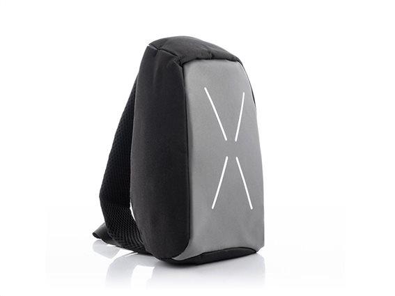 InnovaGoods Unisex Αντικλεπτικό Σακίδιο Τσάντα Ώμου Χιαστή με Θύρα Φόρτισης USB, 20x29x8 cm