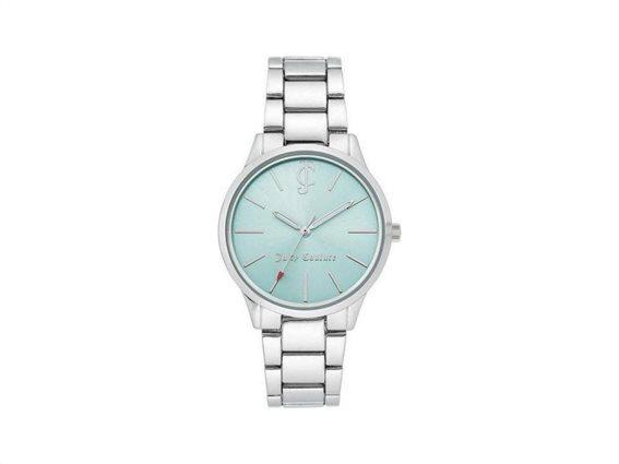 Juicy Couture Γυναικείο Ρολόι Αναλογικό, 36mm με μπρασελέ-κούμπωμα ασφαλείας, JC/1059LBSV