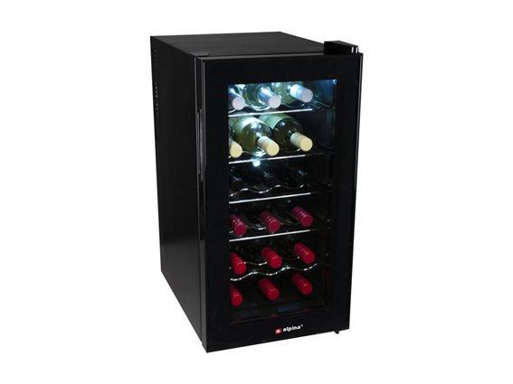 Συντηρητής Ψυγείο ποτών 50L για 18 φιάλες, 34.5x49x66 cm, Alpina wine cooler