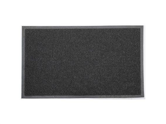 Πατάκι Χαλάκι εισόδου σε σκούρο γκρι χρώμα, 75x45 cm, Doormat dark grey