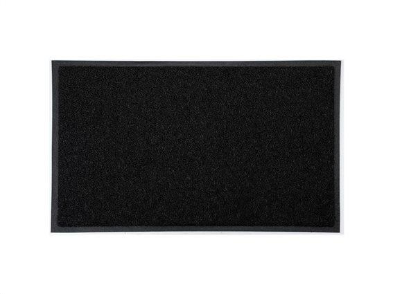 Πατάκι Χαλάκι εισόδου σε μαύρο χρώμα, 75x45 cm, Doormat black