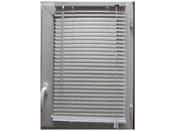 Στόρι Σκίασης με περσίδες σε λευκό χρώμα και ρύθμιση ύψους, 120x180 cm, Shading Blind