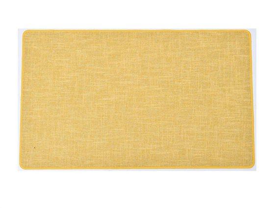 Πατάκι χαλάκι κουζίνας σε Κίτρινο χρώμα, 45x80cm