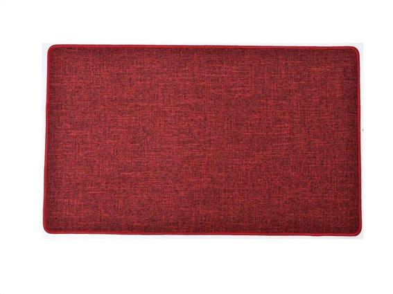 Πατάκι χαλάκι κουζίνας σε Kόκκινο χρώμα, 45x80cm