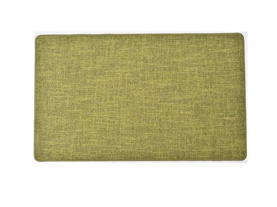 Πατάκι χαλάκι κουζίνας σε Πράσινο χρώμα, 45x80cm