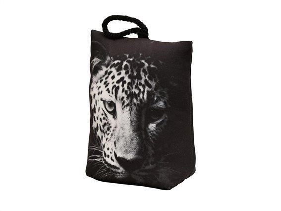Στοπ Πόρτας σε σχήμα τσάντας με σχέδιο τίγρη, Door stopper Leo
