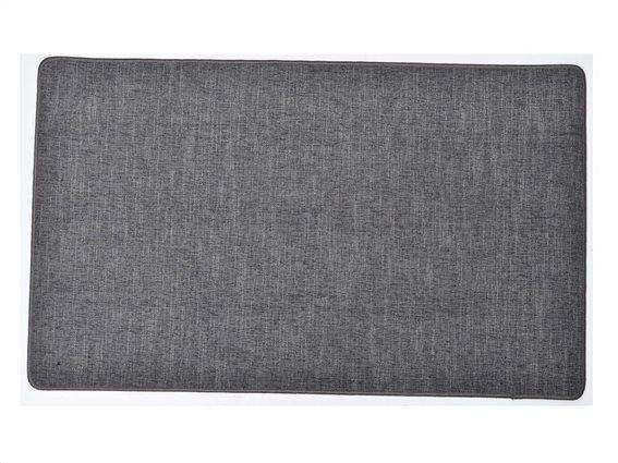 Πατάκι χαλάκι κουζίνας σε Σκούρο Γκρι χρώμα, 45x80cm