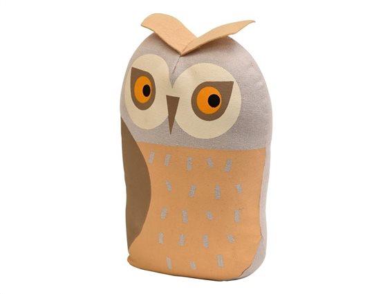 Στοπ Πόρτας σε σχέδιο κουκουβάγια, Door stopper Owl