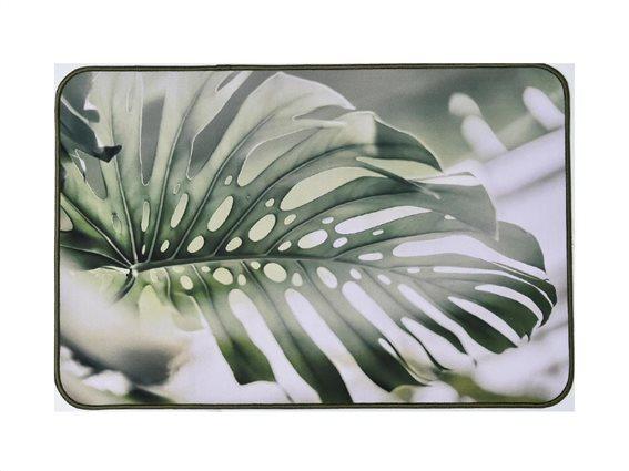 Πατάκι χαλάκι κουζίνας με σχέδιο φύλλο, 40x60 cm, Kitchen mat Aloha