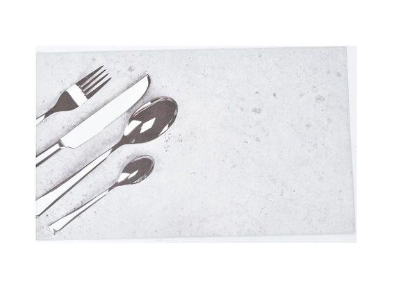 Πατάκι Χαλάκι Κουζίνας με σχέδιο Μαχαιροπίρουνα, 45x60cm, Bistrot