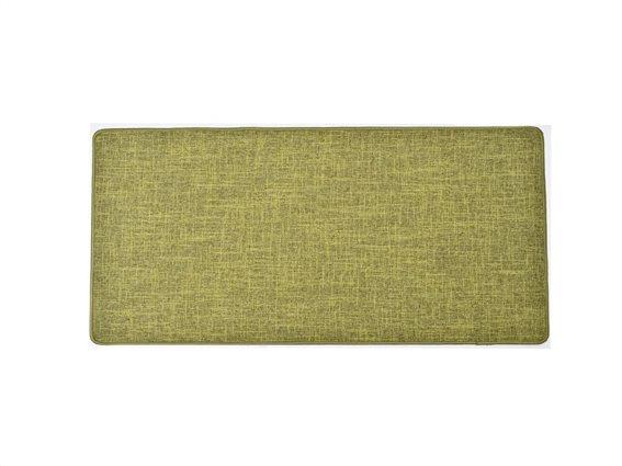 Πατάκι χαλάκι κουζίνας σε λαδί απόχρωση, 45x120 cm, Kitchen mat olive